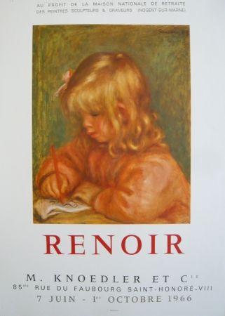 Poster Renoir - Affiche d'exposition