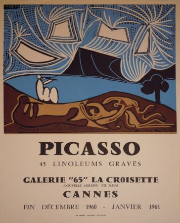 Poster Picasso - Affiche d'exposition