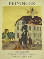 Poster Feininger - Affiche d'exposition