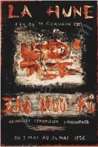 Poster Zao - Affiche d'exposition