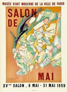Poster Villon - Affiche d'exposition