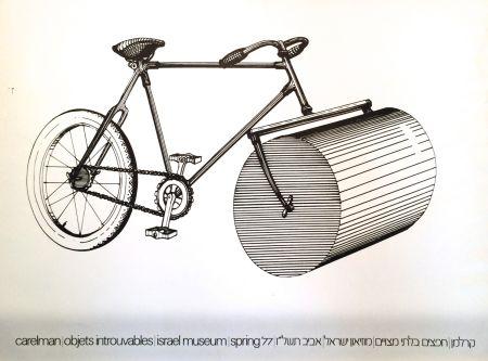 Screenprint Carelman - Affiche d'Exposition