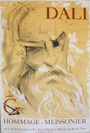 Poster Dali - Affiche exposition Hommage à Meissonier