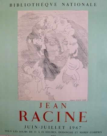 Poster Villon - Affiche exposition Jean Racine BNF
