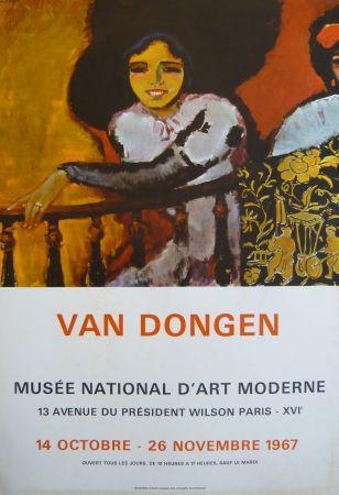 Poster Van Dongen - Affiche exposition Musée d'art moderne