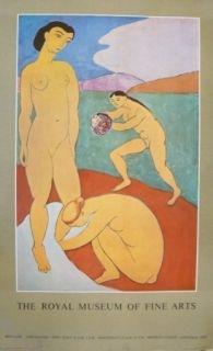 Poster Matisse - Affiche exposition Royal museum of fine arts of Copenhagen