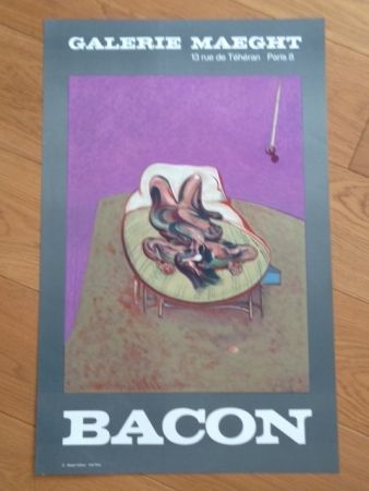 Poster Bacon - Affiche Galerie Maeght