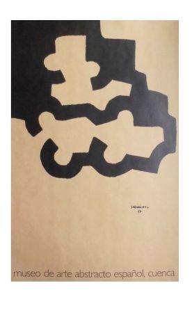 Lithograph Chillida - Affiche Museum Cuenca