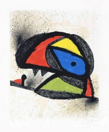 Lithograph Miró - Affiche pour l'exposition 'Homenatge a J. Torres Clavé (Poster for the exhibition 'Homenatge a J. Torres Clavé), 1980