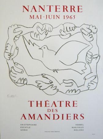 Poster Picasso - Affiche théâtre des Amandiers