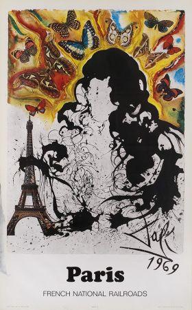 Poster Dali - Affiches SNCF - Paris