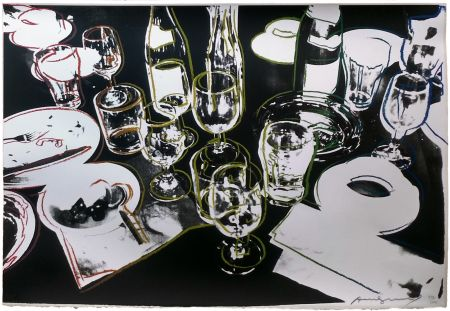 Screenprint Warhol - AFTER THE PARTY FS II.183