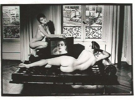 Photography Newton - After Velazquez in my apartment French Vogue