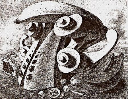 Etching Alejandro - Aguamor de Candiafuertes I