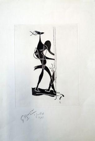 Etching And Aquatint Braque - Ajax