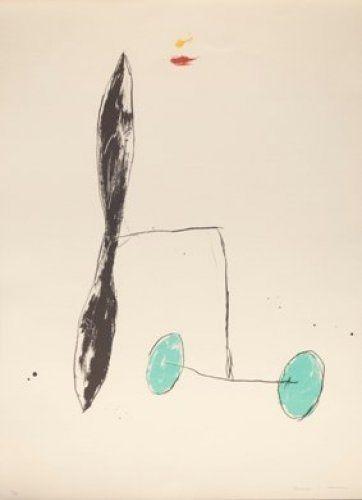 Lithograph Riera I Aragó - A.L. Barcelona' 91