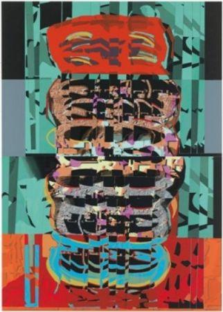 Lithograph Gordillo - A.L. Galeria Joan Prats