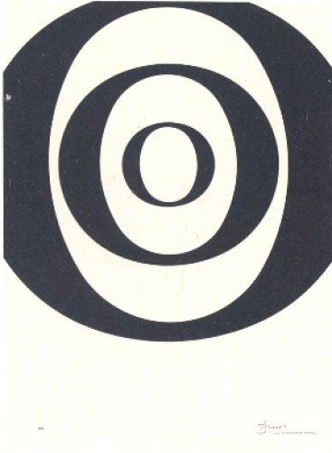 Lithograph Brossa - A.L. Joan Prats