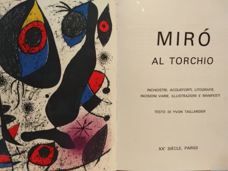 Illustrated Book Miró - Al Torchio