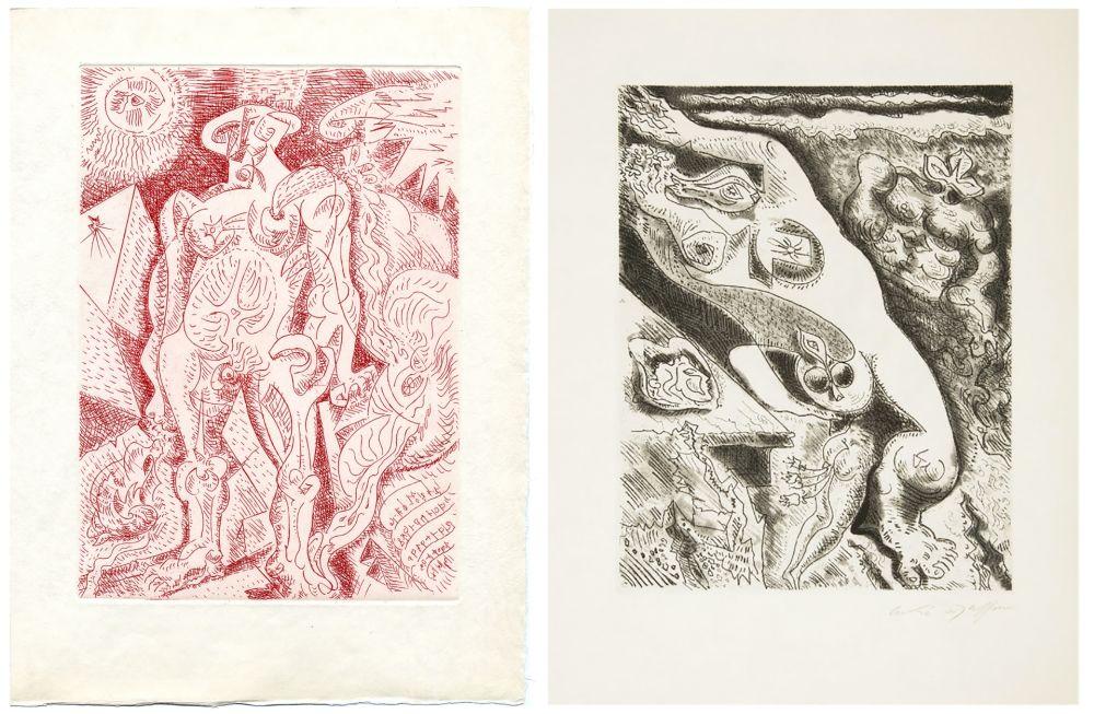 Illustrated Book Masson - Alain Jouffroy : LE SEPTIÈME CHANT (1974)