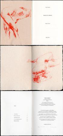Illustrated Book Garache - Alain Veinstein. ÉBAUCHE DU FÉMININ. Maeght 1981