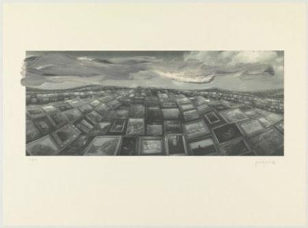 Lithograph Perejaume - A.L.Barcelona 2000