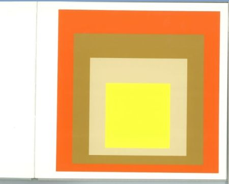 Screenprint Albers - Albers - Homages to the Suare als Wechselwirkung der Farbe