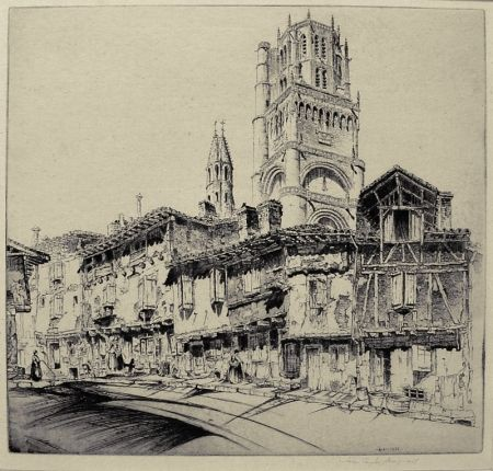 Etching Arms - Albi (a.k.a. The Cathedral of Ste. Cecile)