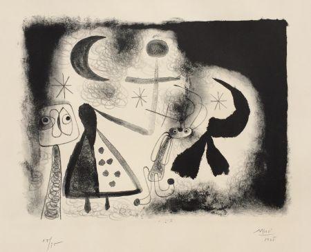 Lithograph Miró - Album 13 – Plate V