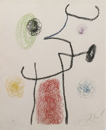 Lithograph Miró - Album 21: One Plate