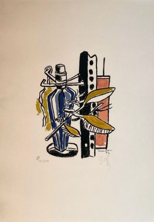 Lithograph Leger - Album de 10 sérigraphies