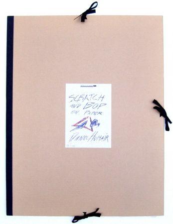 Lithograph Humair - Album Scratch & Bop on paper