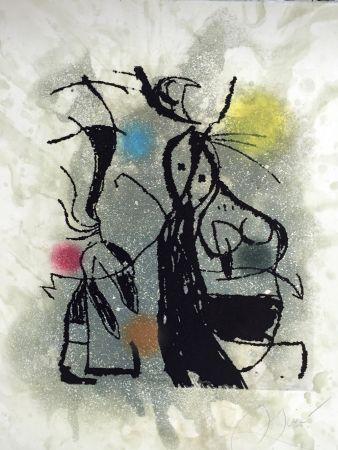 Etching And Aquatint Miró - Aldebaran (D. 1008)