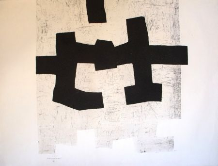 Etching And Aquatint Chillida - Aldikatu I