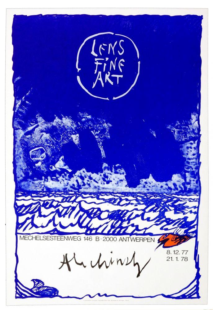 Poster Alechinsky - Alechinsky, 1977