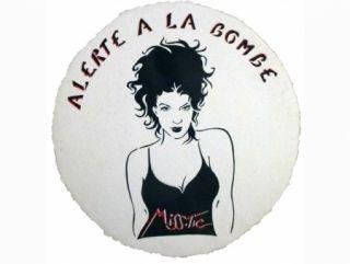 Screenprint Miss.tic - ALERTE A LA BOMBE