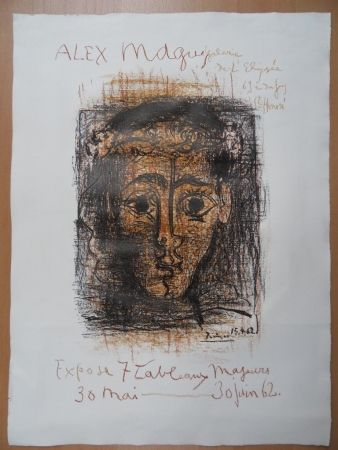 Lithograph Picasso - Alex Maguy 1962