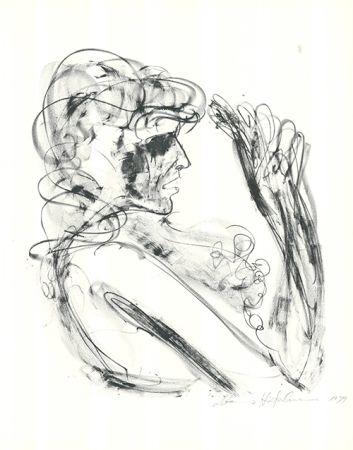 Lithograph Höckelmann - Alexandra