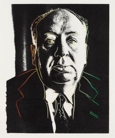 Screenprint Warhol - Alfred Hitchcock