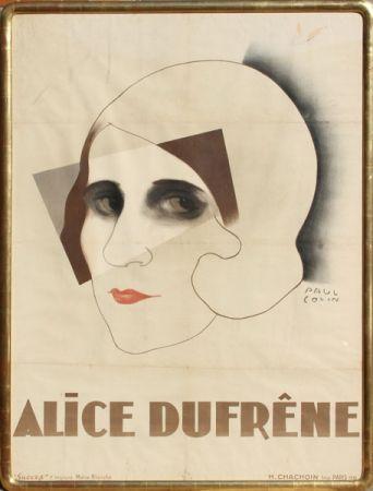 Lithograph Colin - Alice Dufrene