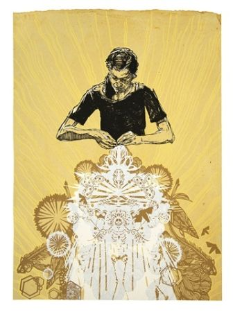 Screenprint Swoon - Alison The Lacemaker