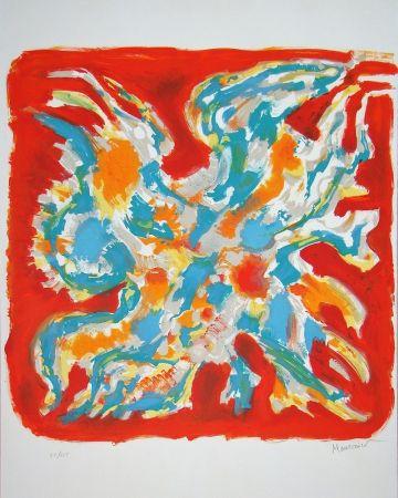 Lithograph Manessier - Alléluia