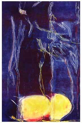 Lithograph Frankenthaler - All About Blue (1994)