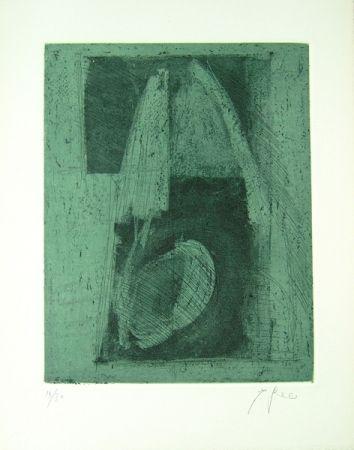 Lithograph Greco - Alterego considera lo spazio
