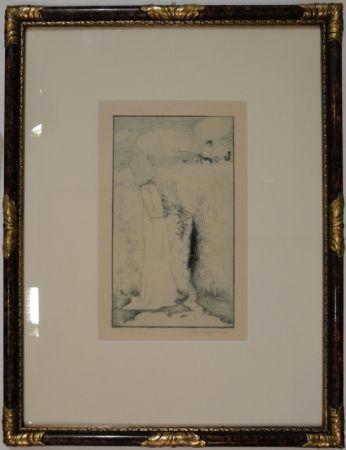 Engraving Vogeler - Am Quell