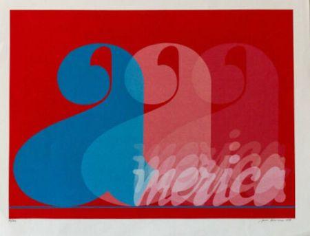Screenprint Brusca - America