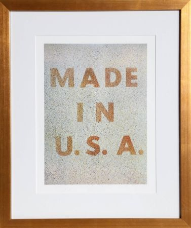 Offset Ruscha - America: Her Best Product (Made in USA) from the Kent Bicentennial Portfolio