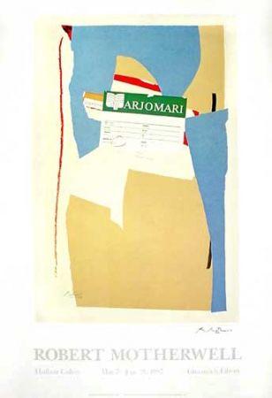 Offset Motherwell - America La France Variations II - Greenwich Library/Hurlbutt Gallery Poster