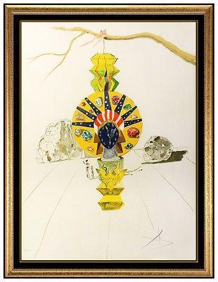 Lithograph Dali -