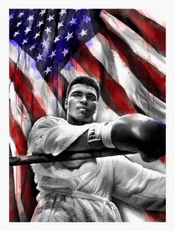 Multiple Mr Brainwash - American Hero (Ali)